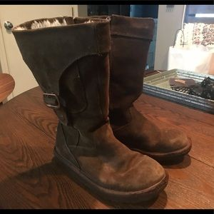 UGG Australia Suede Tall Boots